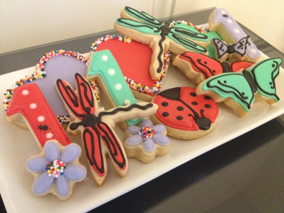 Pretty Bug Cookies