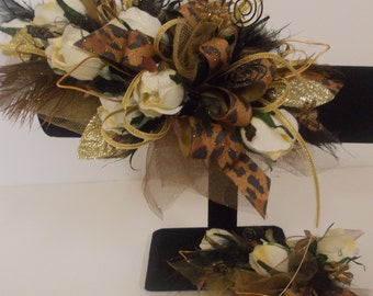 Silk Corsage, It's Prom Season...Bring On The Bling!