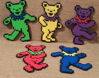 Grateful Dead Bears Magnets