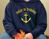 Sailor in Training Child Hoodie