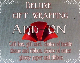 Add-on Deluxe Wrapping Option