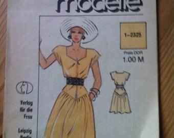 80s dress pattern ddr