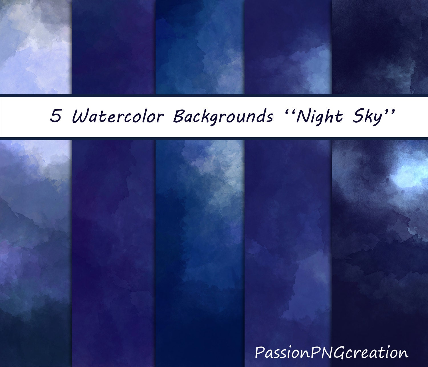 Watercolor Starry Sky Tutorial Il Fullxfull Lsi