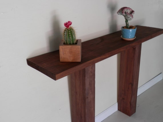 Modern Zen Foyer : Modern zen entryway or foyer table made from solid by