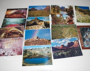 Vintage Sedona Arizona Grand Canyon Postcard Lot