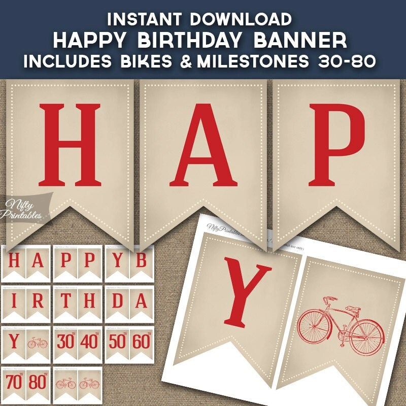 Bicycle Birthday Invitations Bike Birthday Party ANY AGE