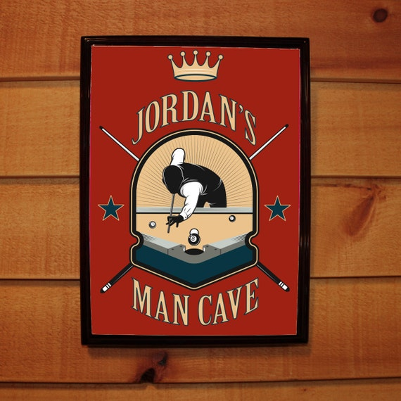 Personalised Man Cave Gifts : Custom personalized bar sign pub man