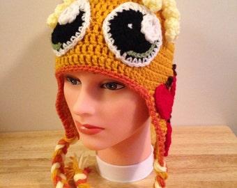 Crocheted My Little Pony Applejack Hat