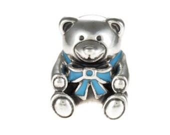 Pandora It's a Boy Bear with Blue Enamel Charm