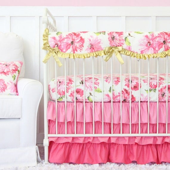 Pink Amp Gold Petunia Ruffle Designer Baby By