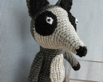 Mr. Racoon amigurumi