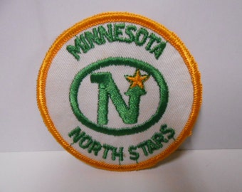 NHL Minnesota North Stars rare vintage hockey patch 1970s