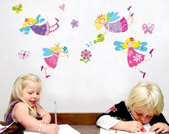 Fairy Nursery Kids Wall Decals / Wall Stickers - FREE DELIVERY (Australia Only)