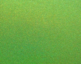 SALE! 12 x 12 Kiwi Green Glitter Cardstock from Best Creations - 3 Sheets