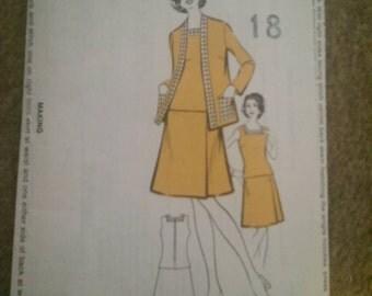 Sunday people pattern 492, Skirt, dress and jacket size 18