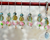 Rose Garden Snagless Stitch Markers