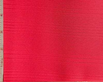 """Red Variegated Rib Fabric 2 Way Stretch Polyester 10 Oz 58-60"""""""