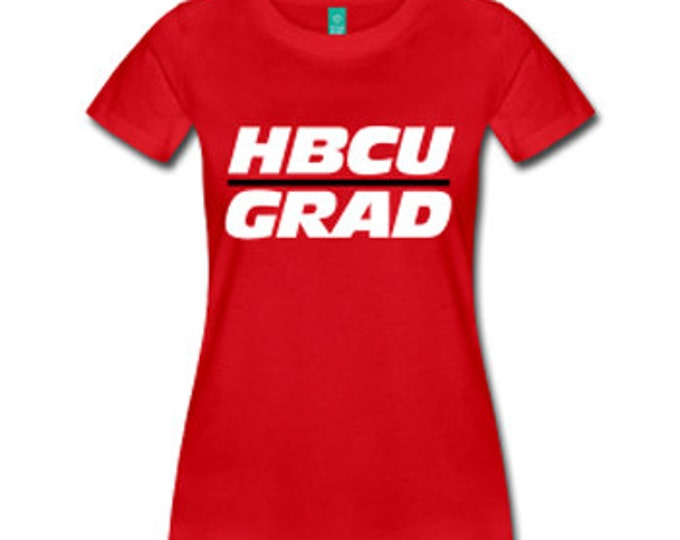 HBCU Grad Women's Fitted T-Shirt - Red