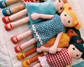 Doll Dress Sewing Kit and Doll