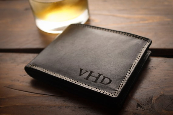 Personalized Mens Wallet For Men Fathers Gift For By