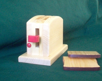Wooden Pop Up Toaster