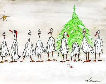Ducks in a Row..at Christmas Time