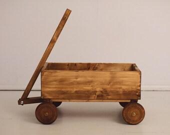 Vintage cart prop, baby cart prop, wooden cart photo prop, vintage cart photo prop, photography props,newborn props, country style cart prop