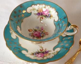 Beautiful EB Foley China Tea Cup & Saucer