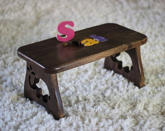 Items Similar To Toddler Personalized Nursery Bench First
