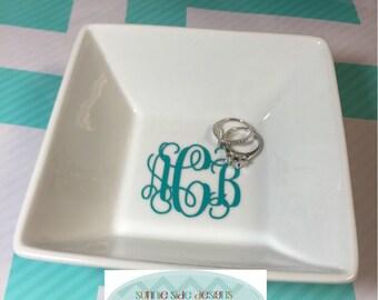 Personalized Jewelry Bowl