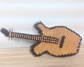 3D Origami Guitar