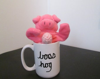 NAUGHTY PIG CUP, gag gift, pig with penis, x rated mug, white trash, boss hog cup, adult novelty mug, penis cup, pig valentine, dirty cup