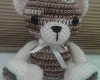 Amigurumi Brown & Cream Teddy Bear