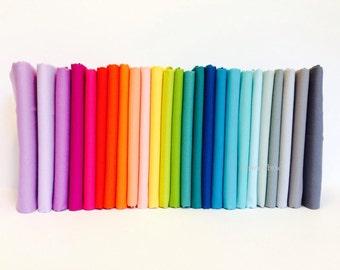 Elizabeth Hartman Designer Palette Bundle - Kona Cotton Solids - Robert Kaufman