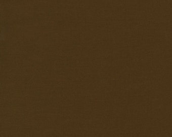 Kona Cotton in Chestnut - Robert Kaufman (K001-407)