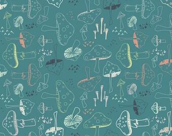 Hello Bear - Morel Grove Pond - Bonnie Christine - Art Gallery Fabrics (HBR-5432)