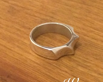 """Sterling Silver Ring - """"Waves"""""""