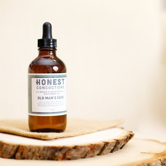 Man Cave Beard Oil : Beard oil old man s cave natural care and
