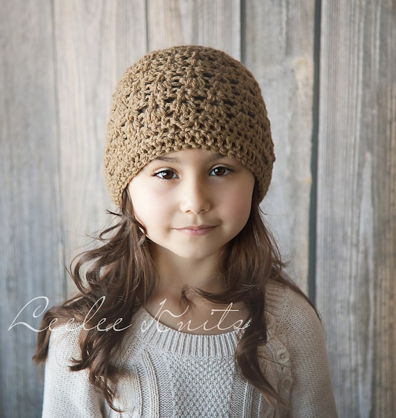 Pattern - Perfect Crochet Winter Hat  Pattern