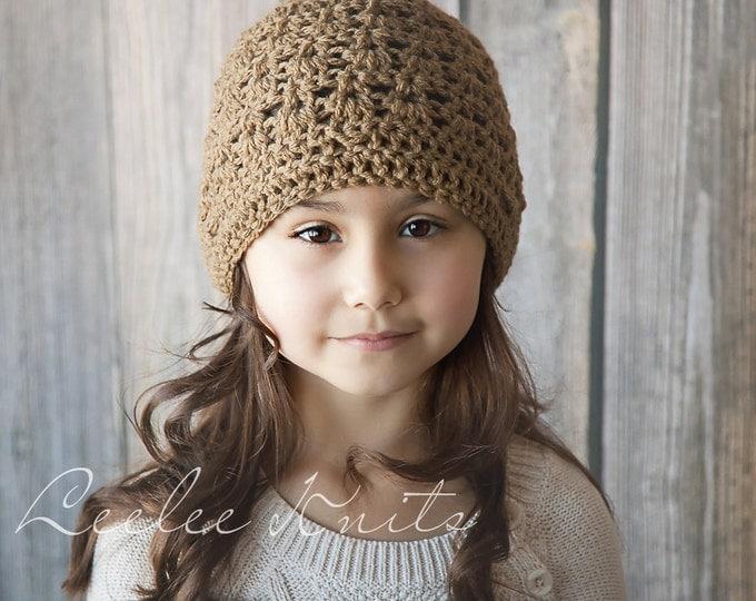 Pattern - Perfect Crochet Winter Hat  Pattern