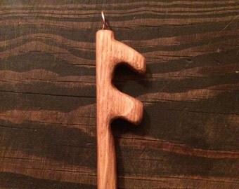 Rune Pendant, asatru pagan heathen viking jewelry odin thor