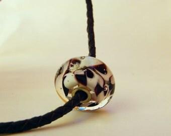 Handmade Bead - Murano glass - Lampwork pendant