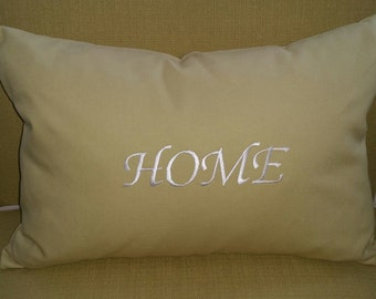 HOME Lumbar Pillow Cover