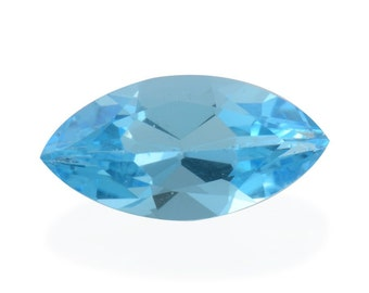 Blue Topaz Marquise Cut Loose Gemstone 1A Quality 14x7mm TGW 2.45 cts.
