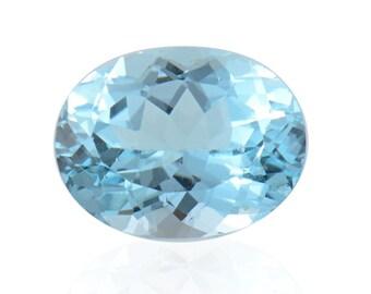 Blue Topaz Oval Cut Loose Gemstone 1A Quality 9x7mm TGW 1.95 cts.
