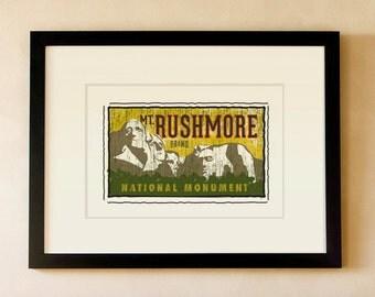 Mount Rushmore National Monument - South Dakota