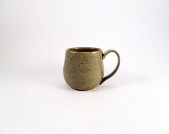 gray ceramic coffee mug