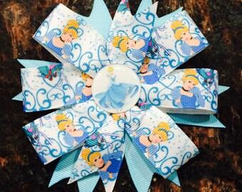 Cinderella Party Favors...Princess Hair Bow...Hair Bow