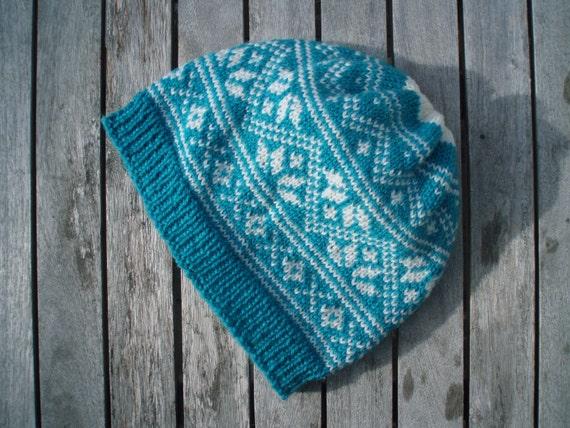 Knitting Patterns For Nordic Hats : PDF knitting pattern Nordic hat by HildeKnits on Etsy