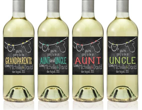 Connu Étiquettes de bouteille de vin d'annonce de par TheSloshedSisters  QV58